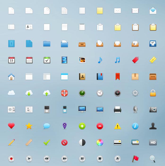 99 Pixel Icons