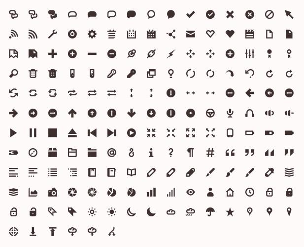 Freebie – 20 free icon sets